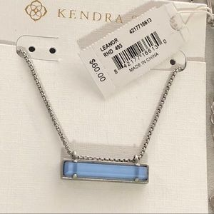 Kendra Scott Silver Leanor Necklace